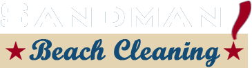 Sandman Beach Cleaning Logo